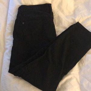 Black James Jeans Ankle Skinnies